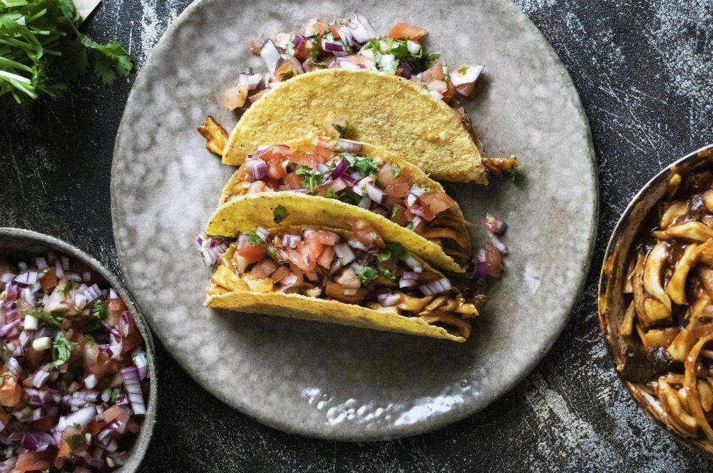 tacos, vegan mushroom tacos, vegan tacos, meat-free tacos, vegan recipes, vegan meals, plant-based dinner