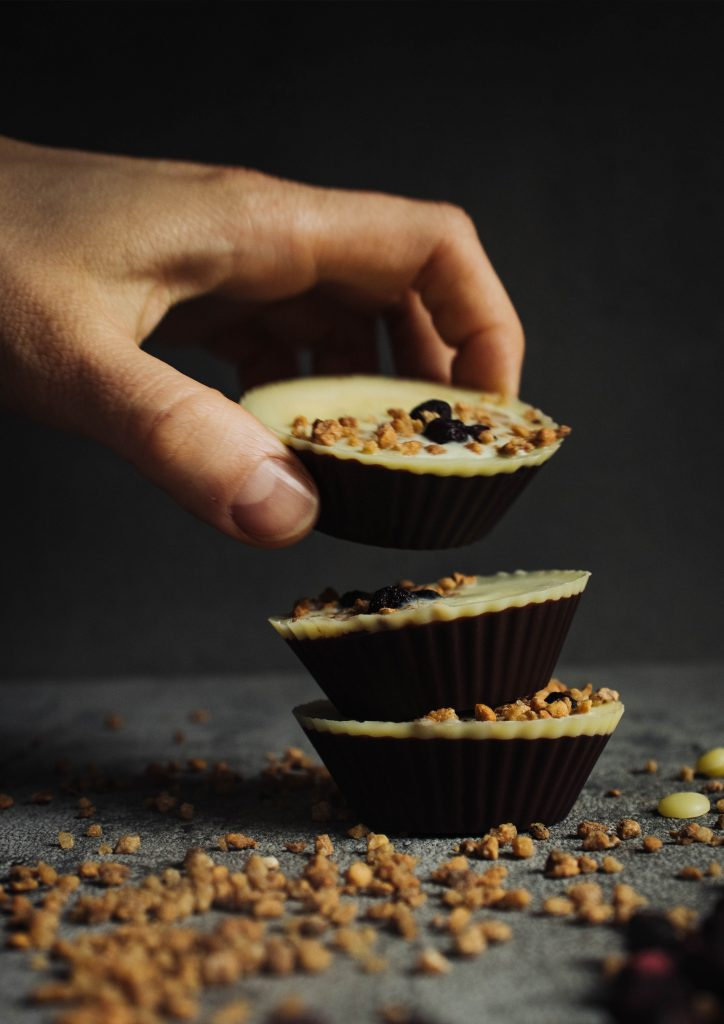 peanut butter-jelly chocolate cups